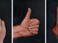 paveikslas_ŽENKLAI, triptikas 24x18 cm