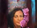 paveikslas_KARALIENĖ 90x60 cm
