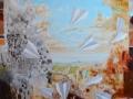 paveikslas_LAISVAS SKRYDIS Nr.2 150x130 cm