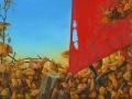 paveikslas_PASIKLYDĘS AITVARAS 50x110 cm