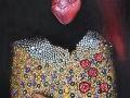 paveikslas_ŠIRDELE MANO 100x50 cm